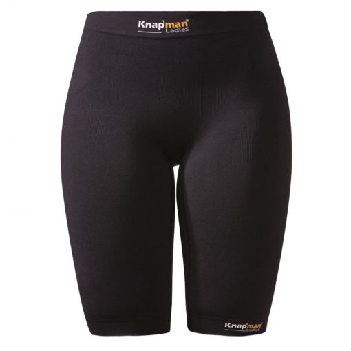 Knapmann dames thermo korte broek Zoned Compressio - Zwart