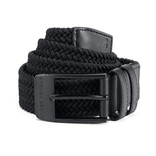 Under Armour golf riem Braided - Zwart
