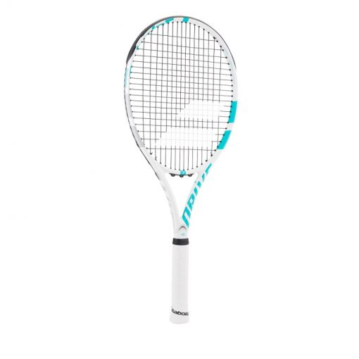 Babolat senior tennis racket Drive G Lite - 153 White Blue