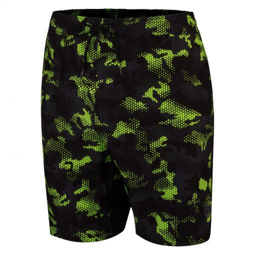 Falcon heren zwemshort Dray - S-28 camo lime
