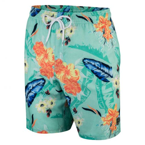 Falcon heren zwemshort Dray - S-26 flowers