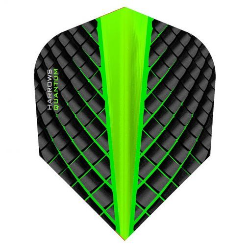 Harrows dart flight Quantum - Groen