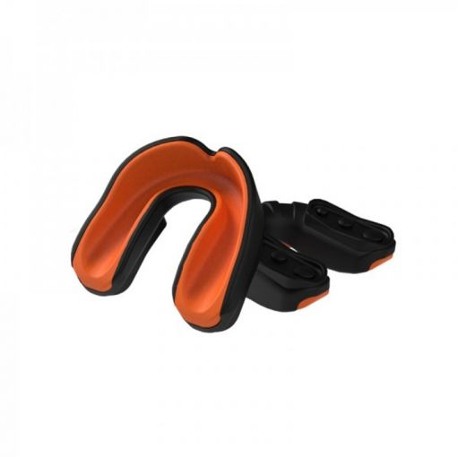 Essimo gel gebit beschermer Mouthguard - Zwart