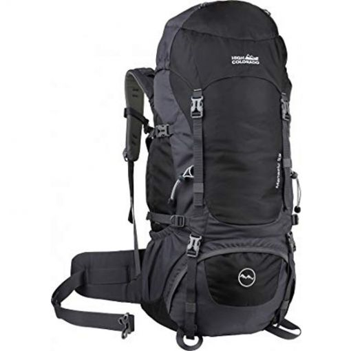 Lhasa 55 Rucksack - 9506 Black/Grey