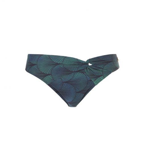 WOW dames bikini onderstuk Brief Knot - Blauw