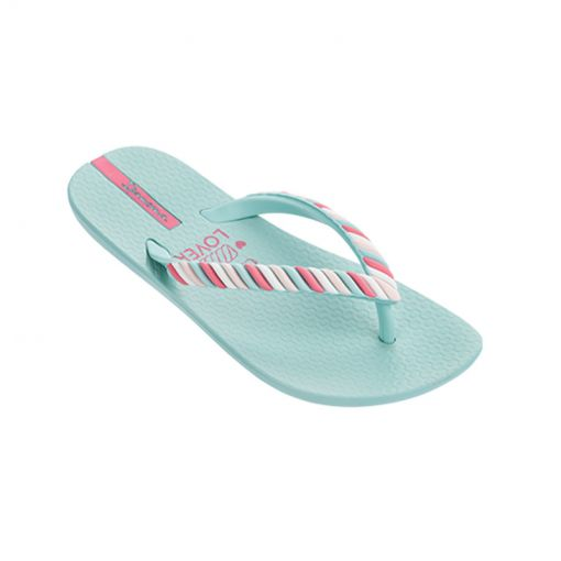 Ipanema kids beach slipper Summer Love - Blauw