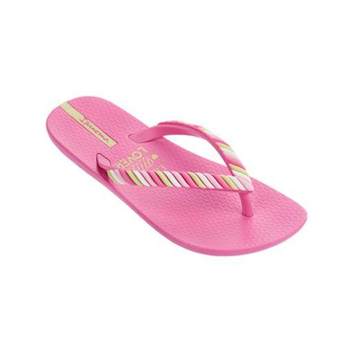 Ipanema kids beach slipper Summer Love - Roze