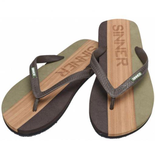 Sinner heren beach slipper Capilota - Groen
