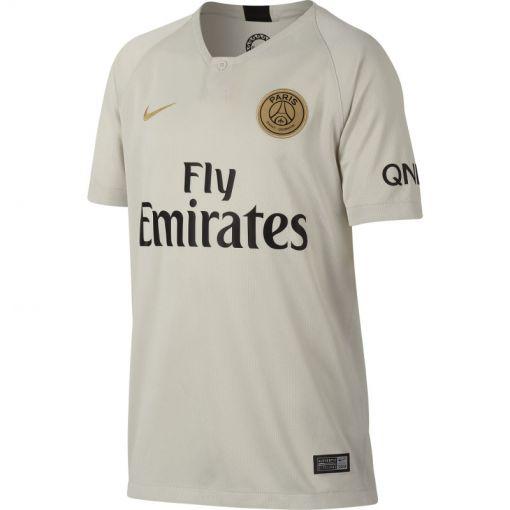 Nike junior voetbal shirt Paris Saint Germain - grijs