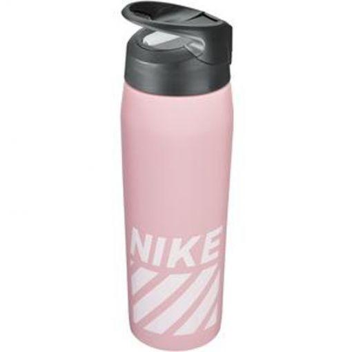 Nike bidon Hypercharge Straw 16Oz - roze