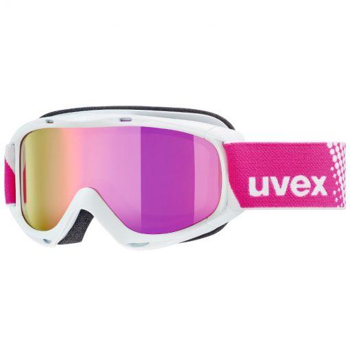 Uvex Slider FM white/pink - Wit