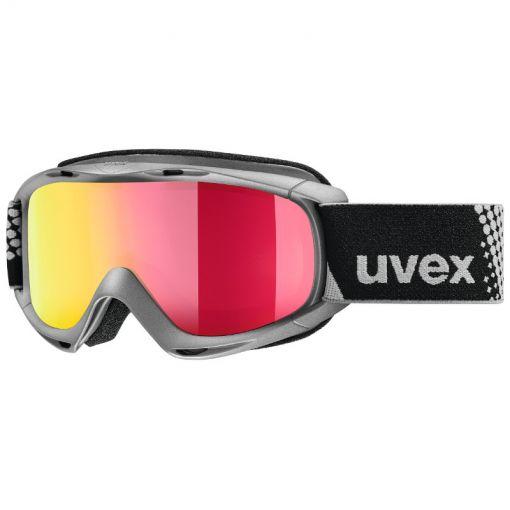 Uvex Slider FM anthracite/red - grijs