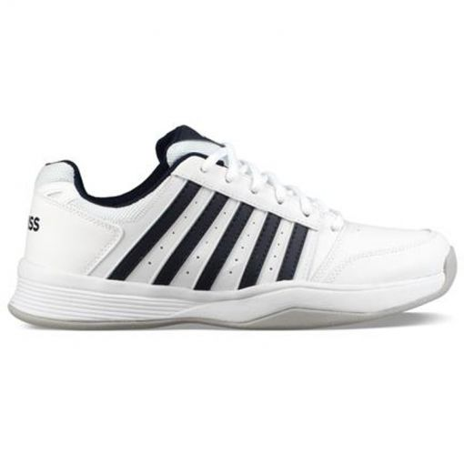 K-Swiss heren indoor tennis schoen Court Smash - geel