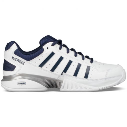 K-Swiss heren indoor tennis schoen Receiver - Donker blauw