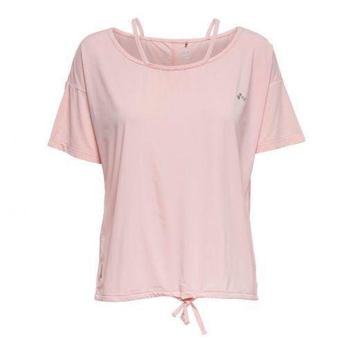 Only Play dames yoga t-shirt Delta - Grijs