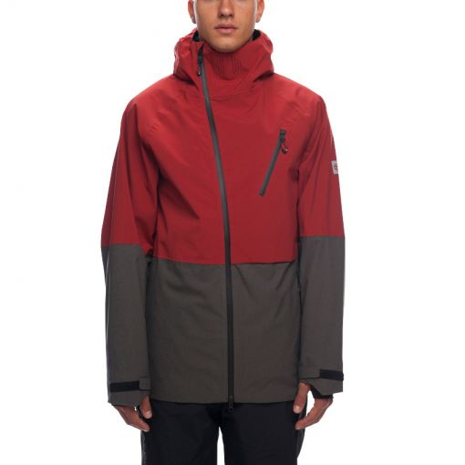 686 heren ski jas Hydra Thermagraph - rood