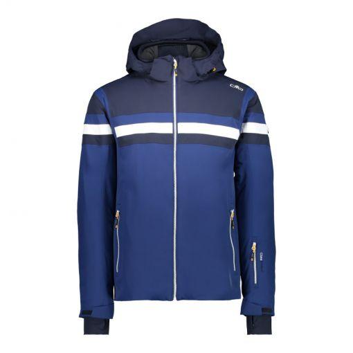 CMP heren ski jas Jacket Zip Hood - Donker blauw