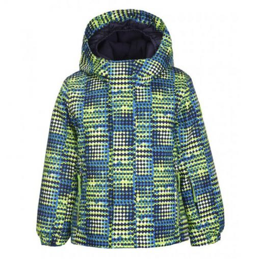 Killtec junior ski jas Stripy - blauw