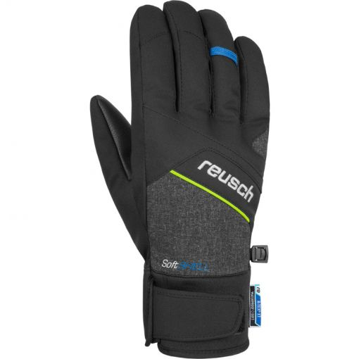 Reusch ski handschoen Luke - zwart