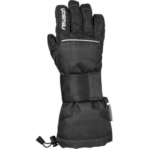 Reusch junior ski handschoen Baseplate - Zwart