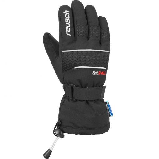 Reusch junior ski handschoen Connor - Zwart
