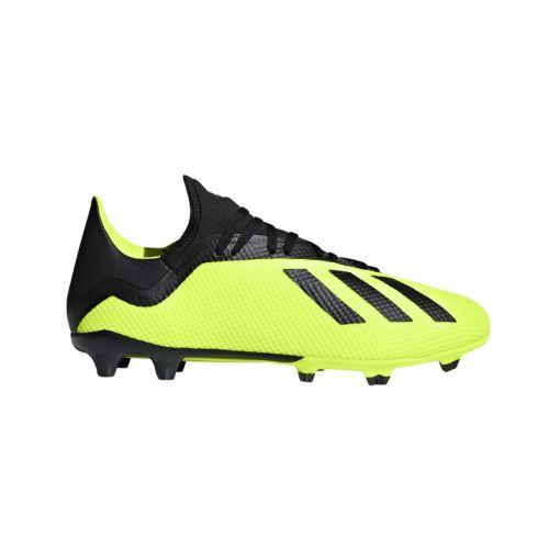 Adidas heren voetbalschoen X 18.3 Fg - geel