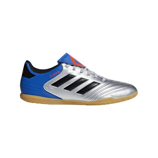 Adidas heren zaalvoetbal schoen Copa Tango 18.4 - zilver