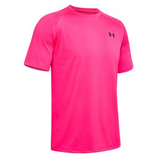 Under Armour heren fitness t/shirt Tech Ss 2.0 - 687 Pink Surge