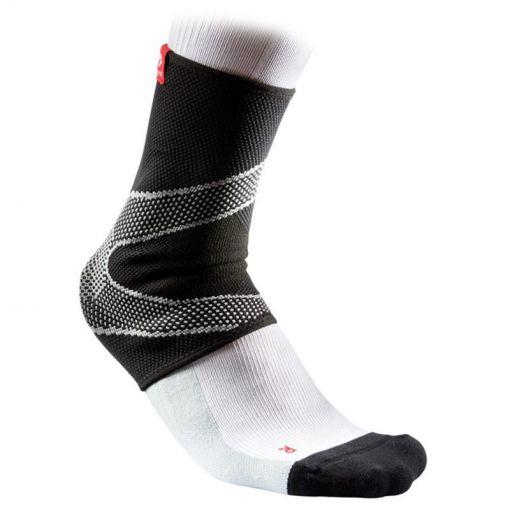 Ankle Sleeve 4 Way - Zwart