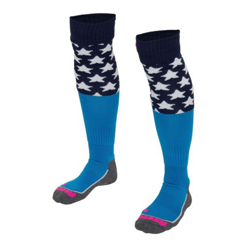 Reece hockey sokken Curtain - blauw
