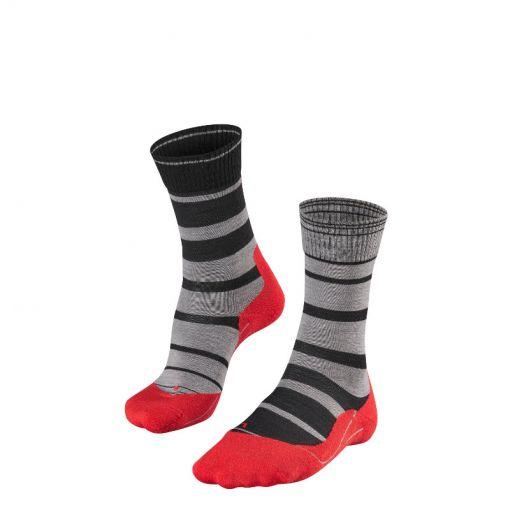 Falke heren outdoor sokken Tk 5 Degrade - zwart
