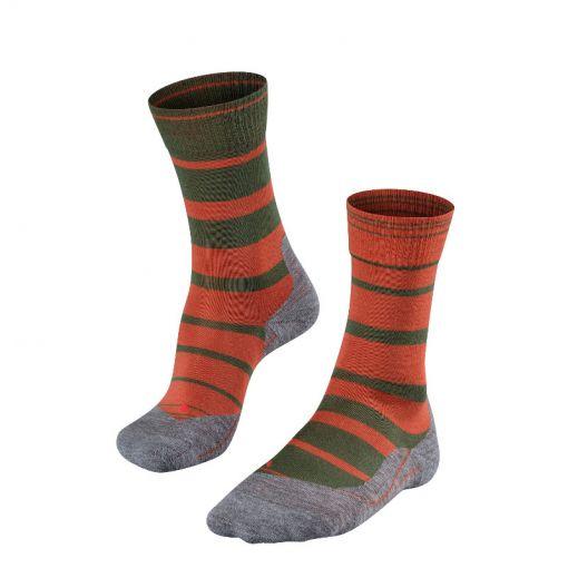 Falke heren outdoor sokken Tk 5 Degrade - 5220 copper