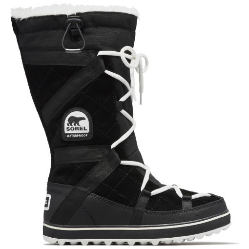 Sorel dames moonboot Glacy Explorer - zwart