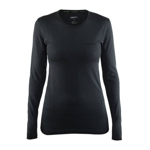 Craft dames thermo shirt lange mouw Active Comfort - Antraciet