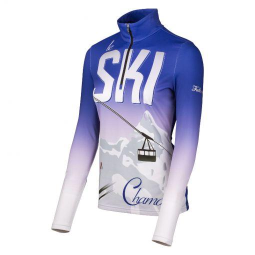 Falcon dames ski pully Ocejon - blauw