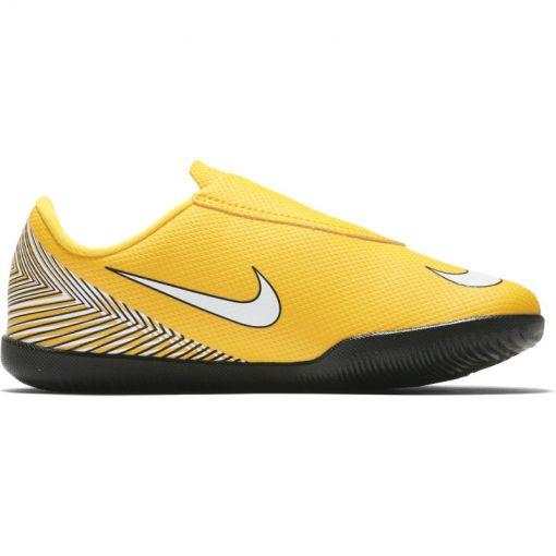 Nike kids zaal voetbal schoen Vapor 12 Club Njr - geel