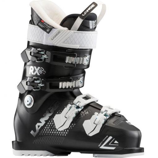 Lange dames skischoen Rx 80 W L.V - Zwart