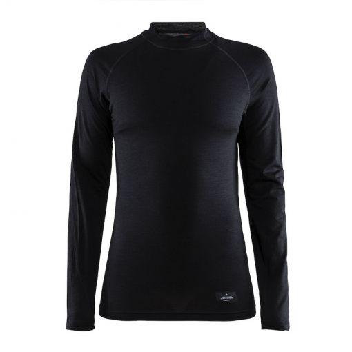 Craft dames thermo shirt Merino Lightweight - zwart