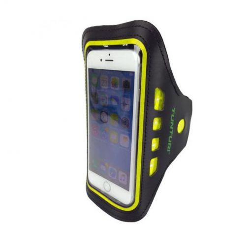 Led Telephone Sport Armband - Geel