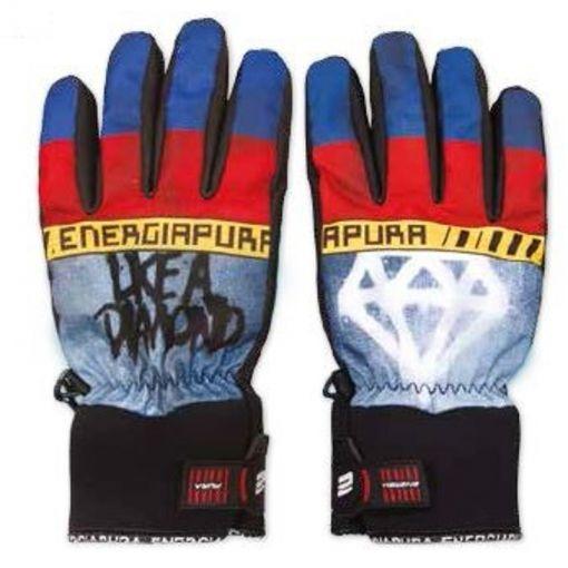 Energiapura senior ski handschoen Diamond - Blauw