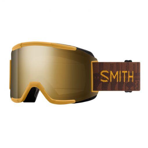 Smith skibril Squad - 2Q6.99MN Amber Textil