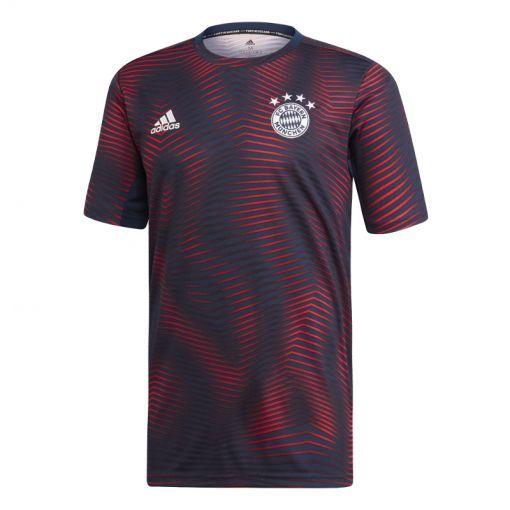 Adidas senior voetbal t-shirt FC Bayern - CONAVY/FCBTRU