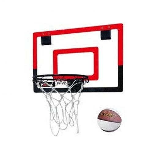 Mini Basketball set - red black