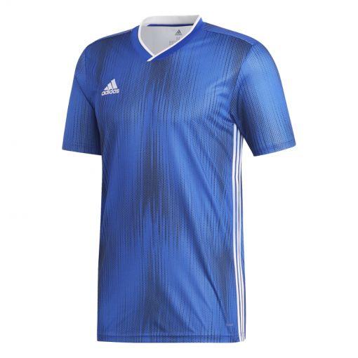 Adidas senior training t-shirt Tiro 19 - BOBLUE/WHITE