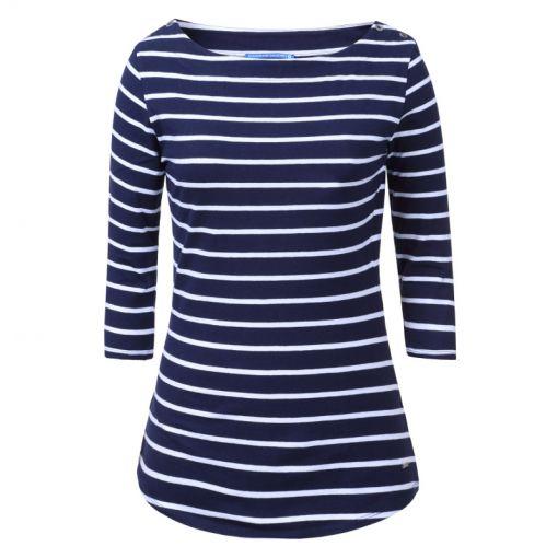 Luhta dames shirt Else - Donker blauw