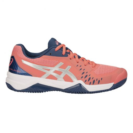 Asics dames tennis schoen Challenger 12 - 704 PAPAYA/GRAND SHARK