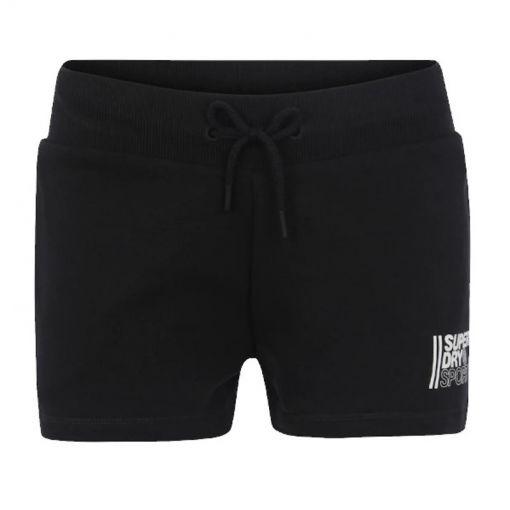 Superdry dames fitness korte broek Core Sports - Zwart