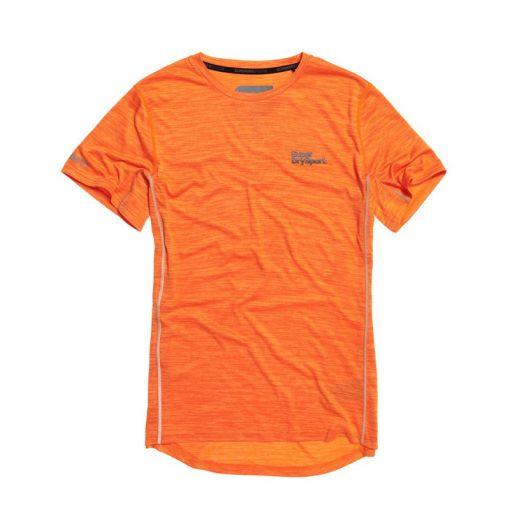 Superdry heren fitness t-shirt Active Training - Oranje