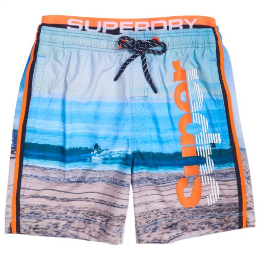 Superdry heren zwembroek Photographic Volley - Q2I Superdry Surf