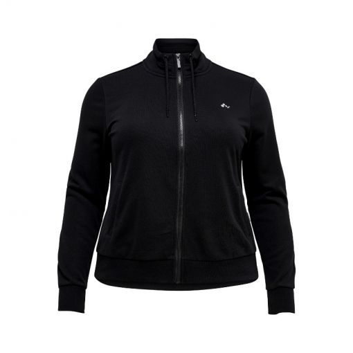 Only Play dames fitness sweater Elina - Zwart